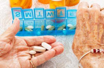 Medicação prescrita x Problemas de Visão